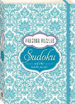 Prestige Puzzles - Sudoku #mothersday #giftidea #sudoku #mother #gift #mum #bookgift #puzzlebook