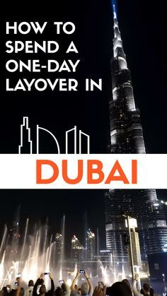 A simple guide to make the most out of your short time in Dubai! #dubai #mydubai #uae #travel #layovers #travelguides #traveltips