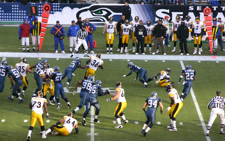 Go to a pro football games (Seahawks vs Steelers)