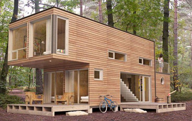 Дом из контейнера площадью 60m2