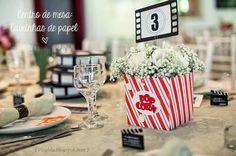 Casamento temático: Cinema | Blog do Casamento - O blog da noiva criativa! | Decoração, Idéias criativas