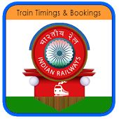 Train Timings and Bookings  An App is visible the train timings and booking the tickets in different places.  1.Train Timings 2.Passengers Reservation Enquiry 3.Booking Information 4.Indian Railway Time Table 5.Other Railway Websites Enquiry Screen Train Schedule 1.PNR Status 2.Trains between Stations 3.Train Berth Availability 4.Seat Availability 5 Train Between Important Stations ★ It Support All Android Devices ★ It Is Free Download game ★ Very easy Interface ★ Absolutely Clean game