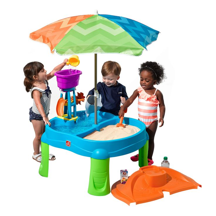 Step 2 Beachside Splash Sand and Water Table