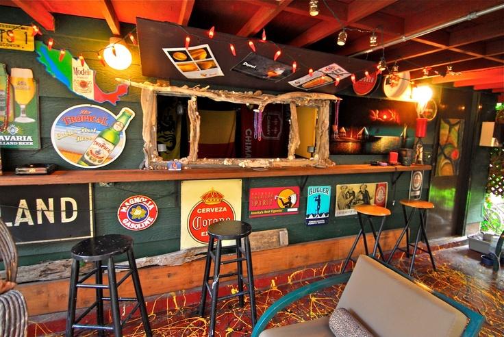 Man Cave Tiki Bar : Best images about tiki garage on pinterest rocks