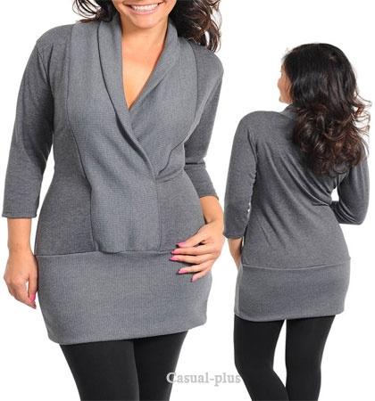 Plus size fashion lady s plus size clothes trendy junior plus size