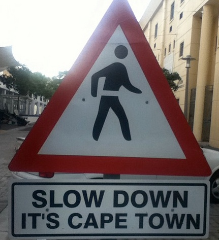 So typical, life is always slower in Cape Town! Tomorrow is another day, more is nog 'n dag! BelAfrique your personal travel planner - www.BelAfrique.com
