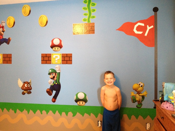 Super Mario brothers room