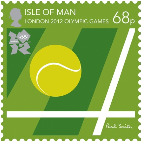 The Nice London 2012 Olympic stamps designed by Paul Smith.