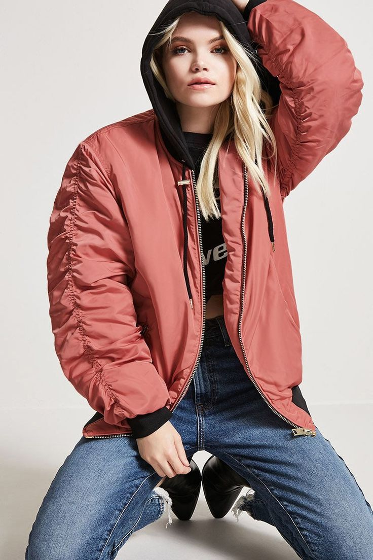 Product Name:Hooded Bomber Jacket, Category:outerwear_coats-and-jackets, Price:34.9