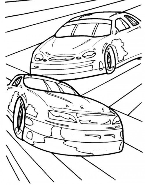 jeff gordon printable coloring pages - photo#19