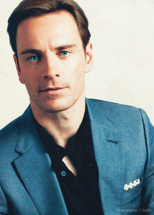 Michael Fassbender - good lord the handsomeness...