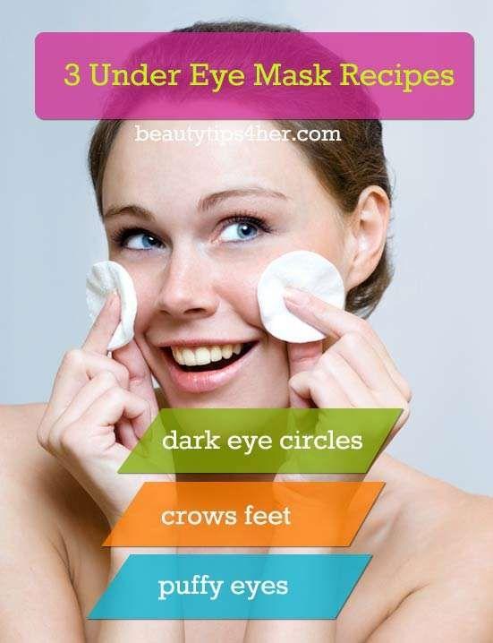 DIY Under-Eye Mask Get Rid Of Those Eye Bags, Crows Feet and Dark Circles | Look Good Naturally