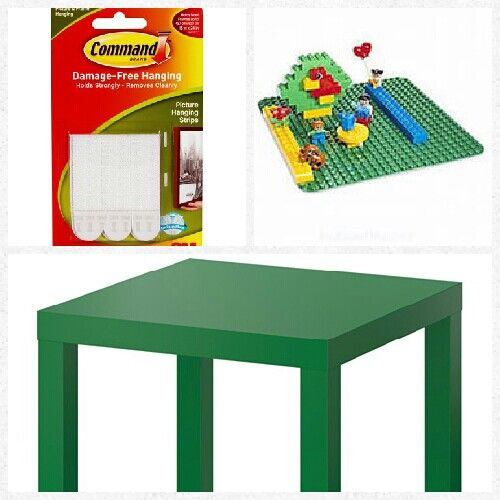 For My 2 Year Old Daughter Diy Lego Duplo Table Ikea