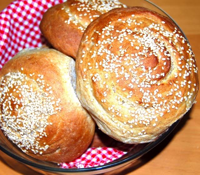 Homemade Vegan Garlic and Herb Sandwich Buns...( No dairy or eggs) Whoo Hooo!