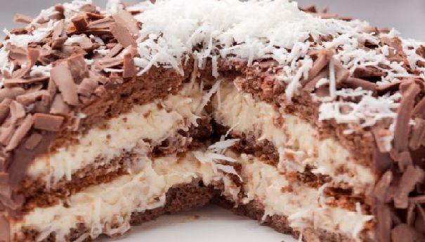 O Bolo Prestígio Cremoso é uma delícia. Você não vai mais querer saber de outra receita, pois esta fica bastante molhadinha, cremosa e saborosa. Confira, f