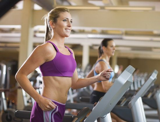 45-Minute Treadmill Pyramid Intervals - try this interval workout on the treadmill instead of running at one pace