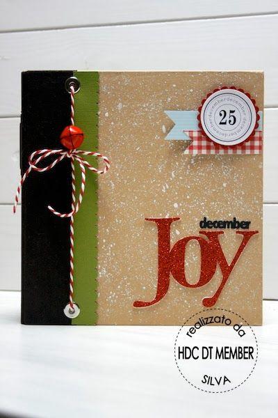 "Hobby di Carta - Il blog: MINI ALBUM: ""December moments"" by Silva"