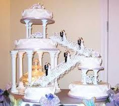 fountain wedding cakes burlap wedding cake knives