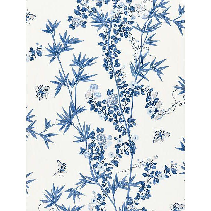 Scalamandre Jardin De Chine Porcelain Fabric Fabric Creative