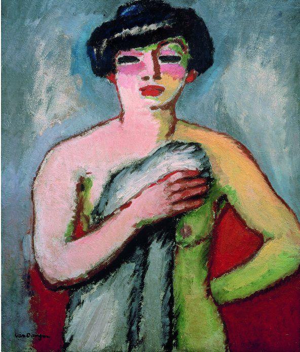 Kees van Dongen, Portrait of Fernande Olivier, 1905, oil on canvas, 100 x 81 cm (Sami Traboulsi Collection, Paris)