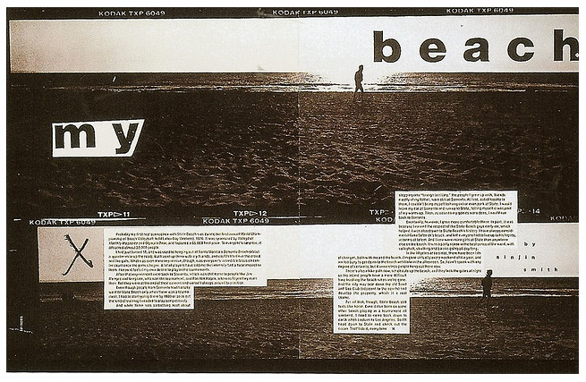 David Carson Magazine Spread - Surf