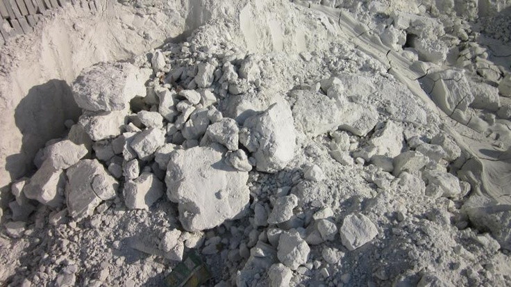 Crushed Marble Powder : Crushed limestone and powder chalky