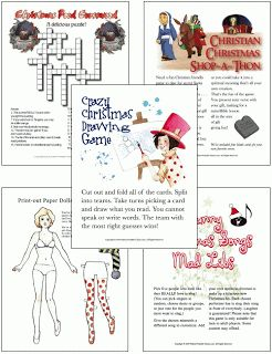 Silkki's Reviews: 60 Printable Christmas Party Games Packet