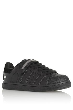 Buy Black Rubber Toe Trainers (Older Boys) from the Next UK online shop