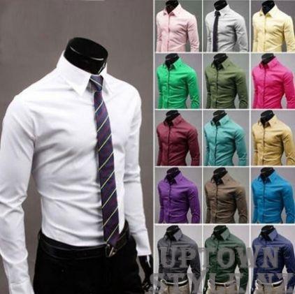Men's Summer Dress Shirts