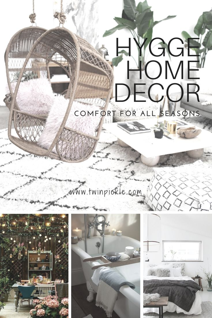 You may have heard of the Hygge home decor trendthat is sweeping the globe, after it burst it's borders of origin in Denmark. Although Hygge loosely translates as 'coziness', there is much more to it