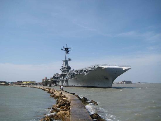 Trips o the coast- USS Lexington, Corpus Christi, TX
