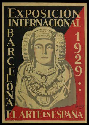 Exposición Internacional : Barcelona 1929 : el Arte en España :: Cartells (Biblioteca de Catalunya)