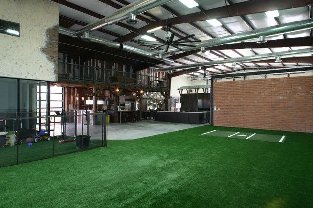 Baseball warehouse man cave