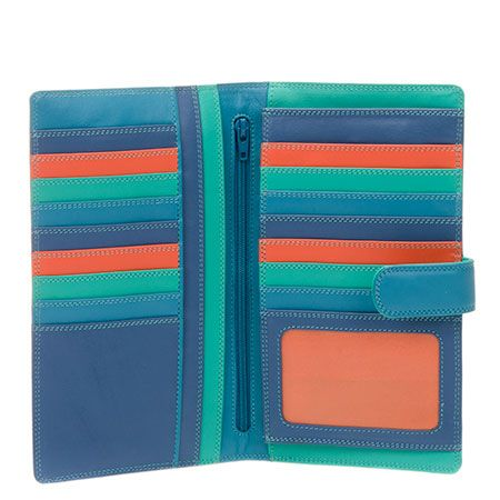 Large Tab Tri-fold Wallet - ideal for those people who live out of their wallets!myWalit SS015 - beautiful brightly colored Leather wallets, bags, accessories- these make me so wonderfully happy! #mywalitss015