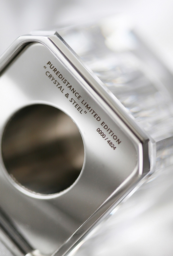 Puredistance Crystal and Steel Column