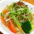 野菜たっぷりスパイシーエスニックスープ