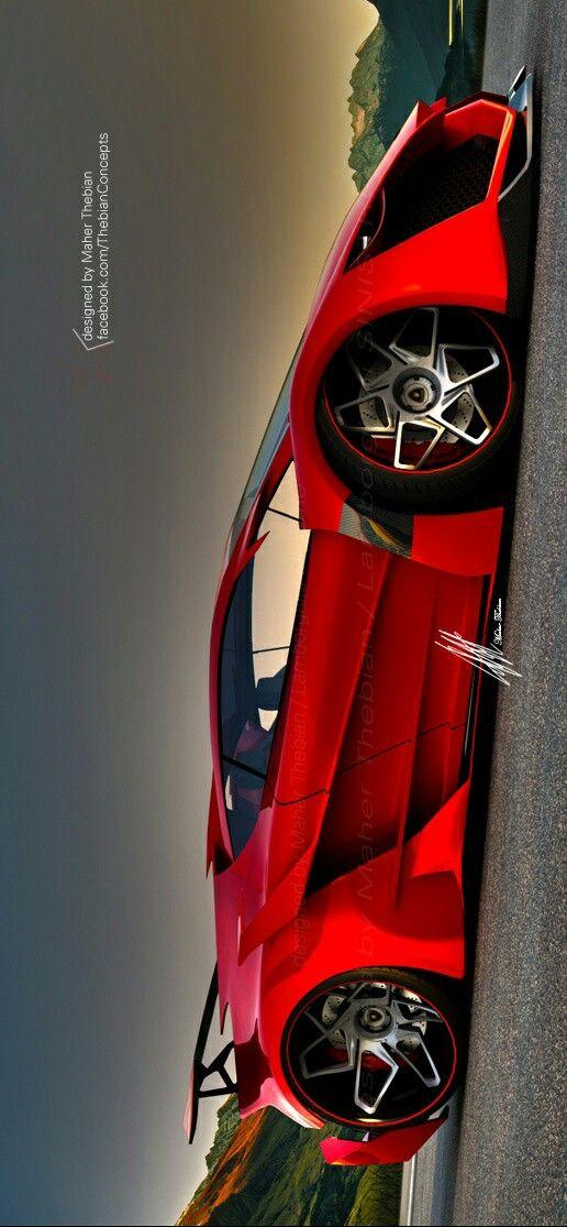 Lamborghini SINISTOR Designed By Maher Thebian