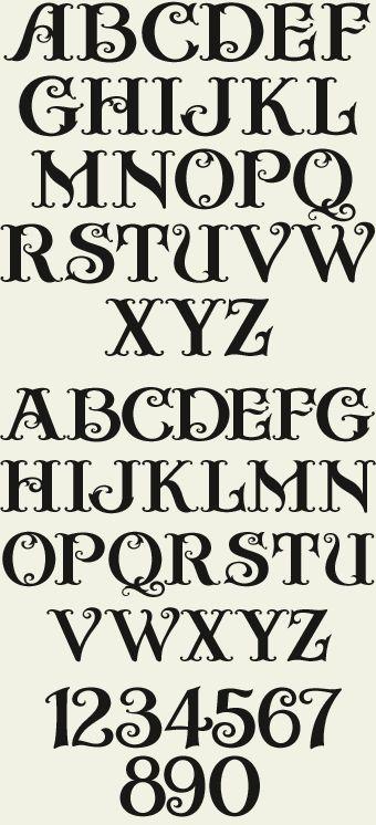 Letterhead Fonts / LHF Crystal / Ornamental Fonts