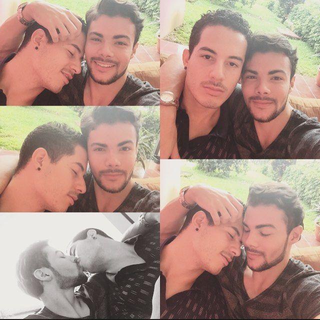 """""""Las parejas más felices no tienen el mismo carácter o piensan lo mismo todo el tiempo.  Las parejas más felices tienen la mejor comprensión de sus diferencias, son pacientes, se aceptan y se respetan.  Y sobretodo creen en Dios 🙌🏻 el mismo que nos cruzo en el camino. ¡Un día a la vez!#kiss ❤️ . . . . . . . .#kiss #gay #selfie #pictureoftheday #pic #instagay #instagood #instadaily #gaylove #gayboy #boys #boyfriend #costarica #puravida #followme #follow #follow4follow #couple #gaycouple…"""