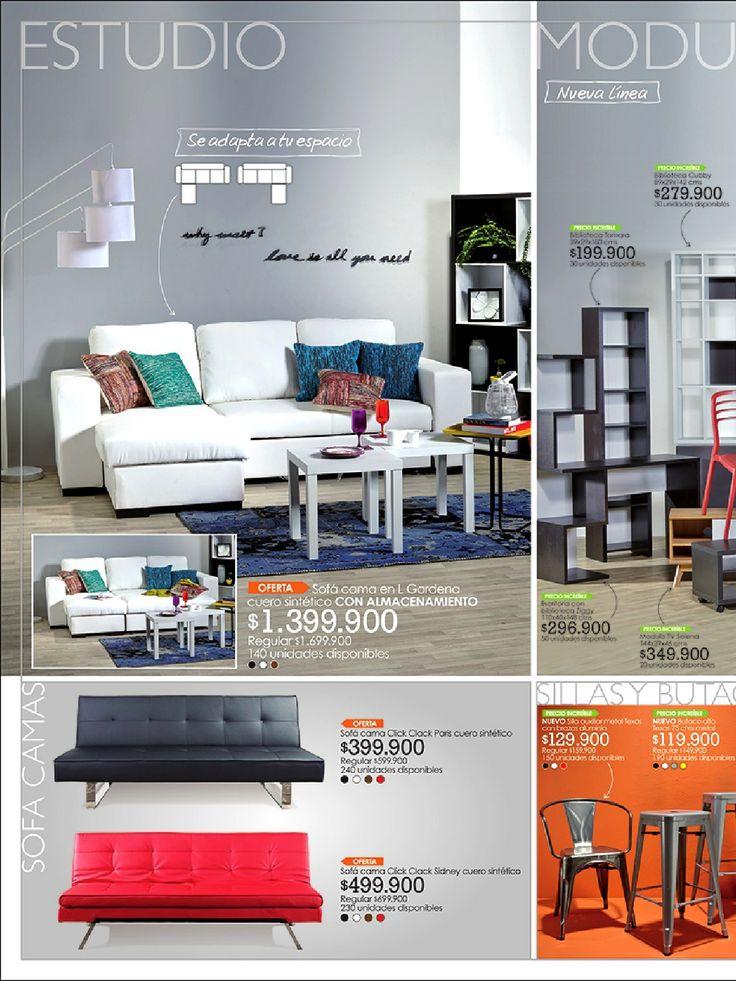 Cat logo de muebles tugo espacios tropicales pinterest - Boga muebles catalogo ...