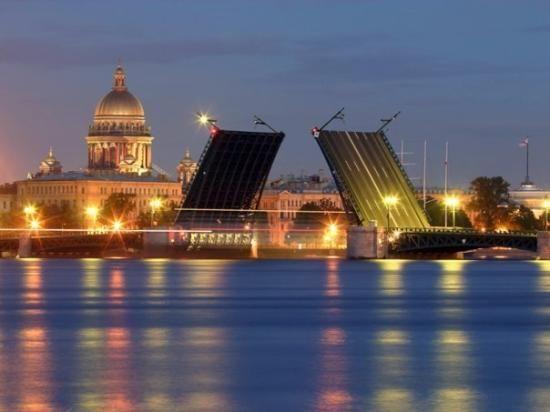 Palace Bridge, St. Petersburg, Russia