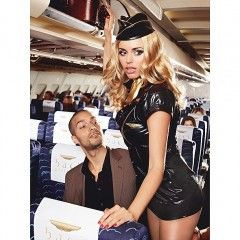 Przebranie stewardessy - Baci Sexy Stewardess S/M