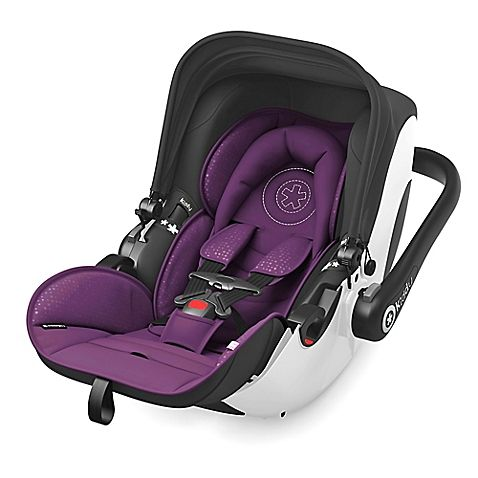 The Kiddy Evolution Pro 2 Infant Car Seat provides maximum safety for your newborn child. Featuring the patented lie-flat function both inside and outside of the car to keep infant's developing necks safe and comfortable by lying flat while on-the-go.