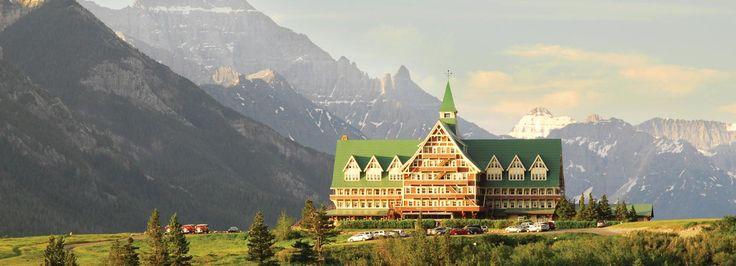 Prince of Wales Hotel Canada - Glacier National Park