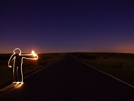 Light Graffiti from Michael Bosanko | happyhappyhappynews.com