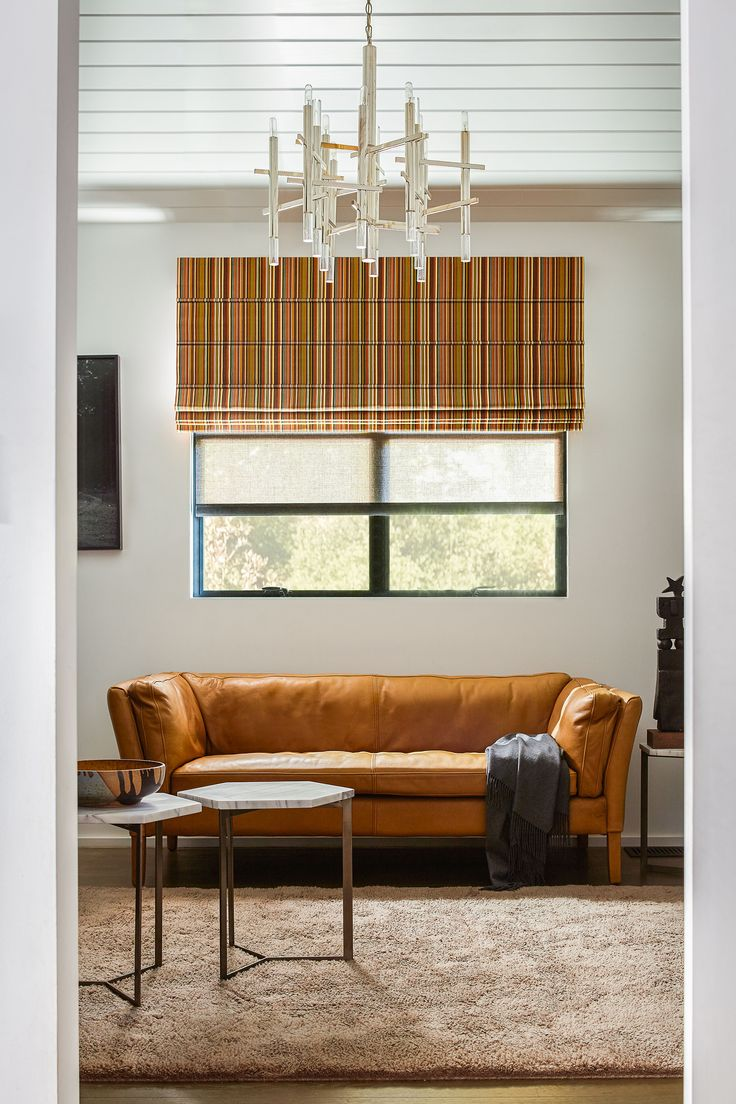 Modern 36 quot 40 quot blinds shades allmodern - The Horizontal Lines Of Aventura Roman Shades Pair Perfectly With Vertical Stripes Like Sunbrella