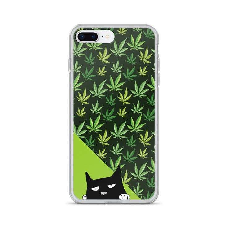 Evil Cat 'Mary J' iPhone Case