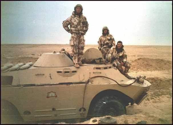 Iraqi BRDM-2 captured by British Forces, Operation Desert ...