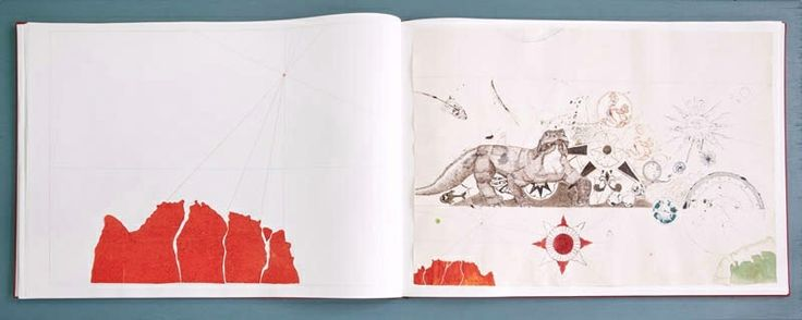 Exhibition view, Atlas of smal and large observations, Handmade artist book,  Copenhagen, 2013 Cecilia Westerberg