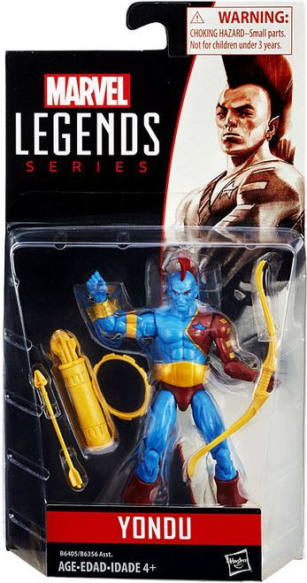 Yondu: Marvel Legends 2016 Figure Series 1 (3 3/4 Inch) Yondu Marvel Legends 2016 Figure Series brings your favorite mutant to life in a 3 3/4 inch scale action figure form. Ages 4 and up.